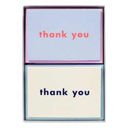 A7 THANK YOU CARD 20PK: MULTI