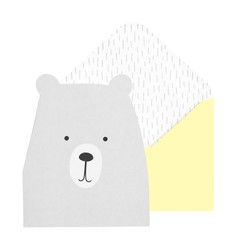 GREETING CARD BEAR GREY: YOU ARE SO LOVED (OUTLET)