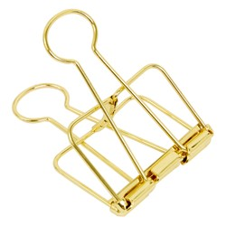 BULLDOG CLIP LARGE GOLD: ESSENTIALS
