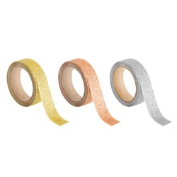 GLITTER TAPE 3PK: ESSENTIALS