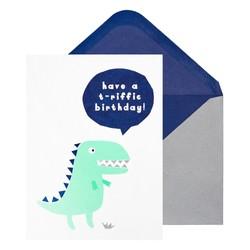 A6 GREETING CARD T-RIFFIC BIRTHDAY: MULTI