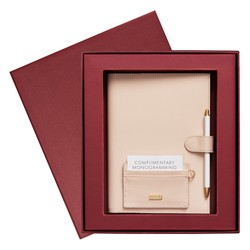 LEATHER  GIFT PACK PORT WINE: CHRISTMAS (OUTLET)