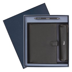 LUXE LEATHER  GIFT PACK FOREST BLUE: CHRISTMAS (OUTLET)