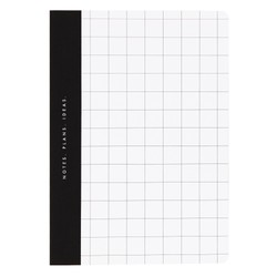 A5 NOTEBOOK WHITE: ESSENTIALS