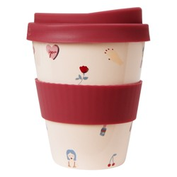 PORCELAIN TRAVEL CUP: THERE SHE IS (OUTLET)