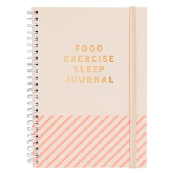 FOOD. EXERCISE. SLEEP. JOURNAL: INSPIRATION