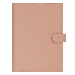 A5 LEATHER NOTEBOOK HOLDER VINTAGE ROSE: SIGNATURE EDITION