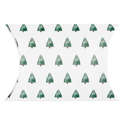 NOTEBOOK DUO STOCKING FILLER FOREST GREEN