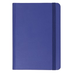 A5 BONDED LEATHER JOURNAL INDIGO: ESSENTIALS (OUTLET)