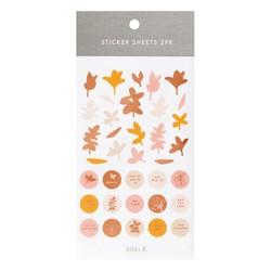 STICKER SHEETS 2PK MULTI: SELF