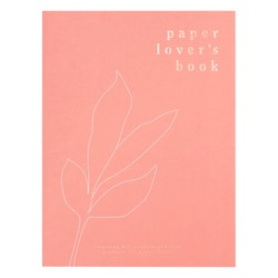 PAPER LOVER'S BOOK DUSTY CORAL: SELF