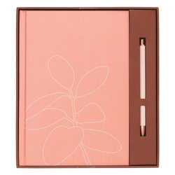 A5 FEATURE JOURNAL GIFT SET DUSTY CORAL: SELF