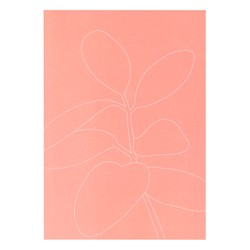 B5 FEATURE NOTEPAD DUSTY CORAL: SELF