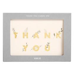 A6 THANK YOU CARDS 5PK MULTI: CELEBRATION