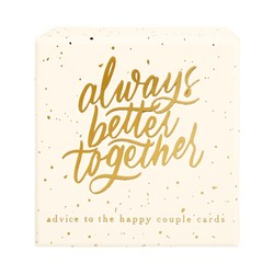 ADVICE TO THE HAPPY COUPLE 50PK ALMOND: CELEBRATION