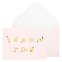 A6 GREETING CARD THANK YOU ALMOND: CELEBRATION