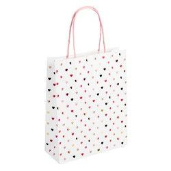 GIFT BAG LARGE WHITE: CHOOSE LOVE