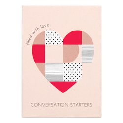 CONVERSATION STARTERS 52PK BLUSH: CHOOSE LOVE