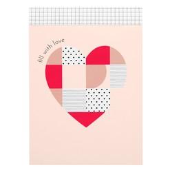 B6 FEATURE NOTEPAD BLUSH: CHOOSE LOVE
