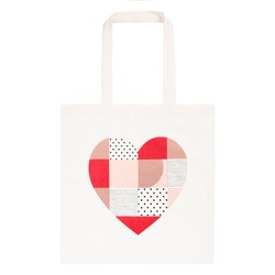 CANVAS TOTE BAG WHITE: CHOOSE LOVE