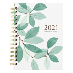 2021 A5 SPIRAL WEEKLY DIARY THYME