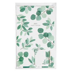2021 LARGE FAMILY WALL CALENDAR GIFT PACK THYME