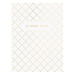 STICKER BOOK WHITE: ESSENTIALS