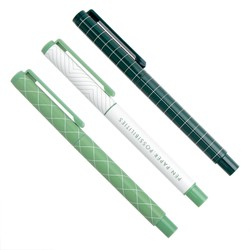 EVERYDAY GEL PENS 3PK THYME: ESSENTIALS