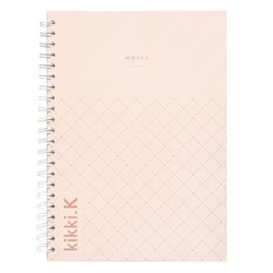 A4 EVERYTHING NOTEBOOK BLUSH: ESSENTIALS