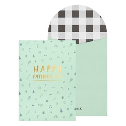 A6 GREETING CARD DESERT SAGE: FATHER'S DAY