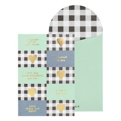 SPECIALTY GREETING CARD - COUPON - FLINT STONE: FATHER'S DAY
