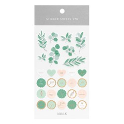 STICKER SHEETS 2PK THYME: KINDNESS