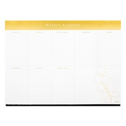 A4 WEEKLY PLANNER PAD WHITE: KINDNESS