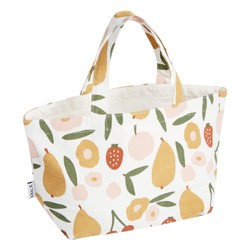CANVAS LUNCHBAG FRUIT MULTI: LIVING WELL