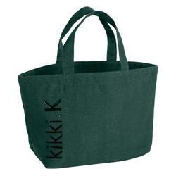 CANVAS LUNCHBAG FOREST GREEN: LIVING WELL