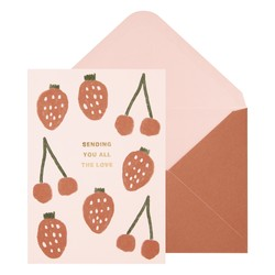 A6 GREETING CARD LOVE BALLET PINK: LIVING WELL