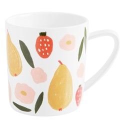 PORCELAIN MUG MULTI: LIVING WELL