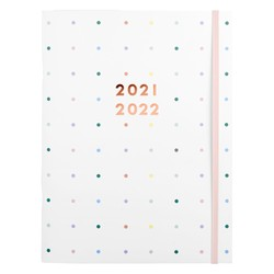 21/22 MONTHLY DIARY WHITE