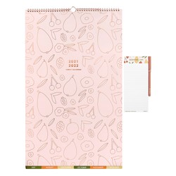 21/22 LARGE FAMILY WALL CALENDAR GIFT SET MUSK