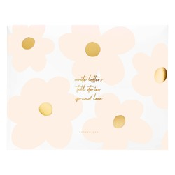 ENVELOPE LETTER WRITING SET FLORAL BALLET PINK: MOTHER'S DAY