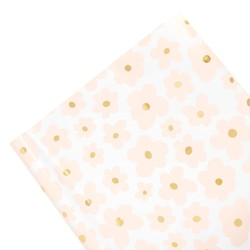 WRAPPING PAPER ROLL 3M BALLET PINK: MOTHER'S DAY