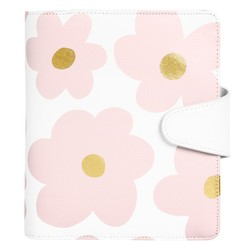 B6 LEATHER PERSONAL PLANNER FLORAL BALLET PINK: MOTHER'S DAY