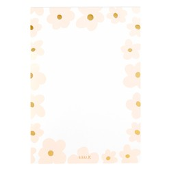 A5 NOTEPAD FLORAL BALLET PINK: MOTHER'S DAY