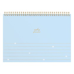 A4 SPIRAL WEEKLY PLANNER BLUEBELL: NOTEWORTHY