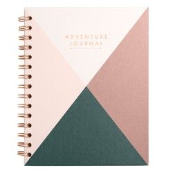 SPIRAL ADVENTURE JOURNAL BLUSH: OUT OF OFFICE