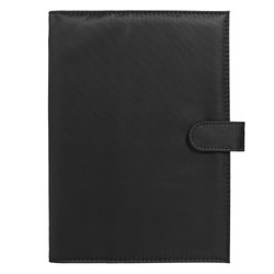 A5 ADVENTURE JOURNAL NOTEBOOK HOLDER BLACK: OUT OF OFFICE