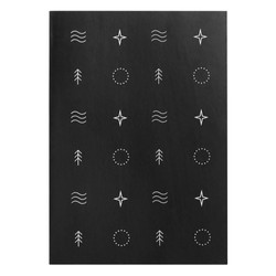A5 ADVENTURE JOURNAL BLACK: OUT OF OFFICE