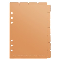 A5 TAB DIVIDER SET 2PK ROSE GOLD: OWN YOUR DAYS