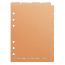 B6 TAB DIVIDER SET 2PK ROSE GOLD: OWN YOUR DAYS