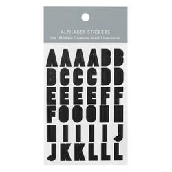 ALPHABET STICKERS BLACK: OWN YOUR DAYS
